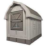 ASL Solutions Deluxe Dog Palace Insulated Dog House with Floor Heater
