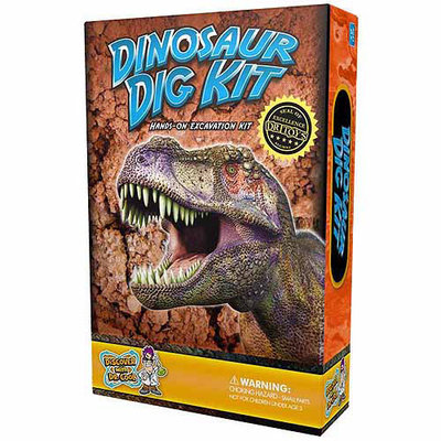 Discover With Dr. Cool Dinosaur Dig Kit! Excavate REAL Dino Fossils!