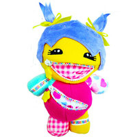 Playdin Zara Zip-Itz Plush Toy