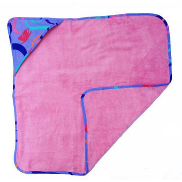 Room Magic Textiles Llc Room Magic Girl Tea Set Hooded Towel