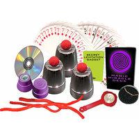 Fantasma Toys 2008 Secret Magic Case DVD 50+ Tricks Multi-Colored
