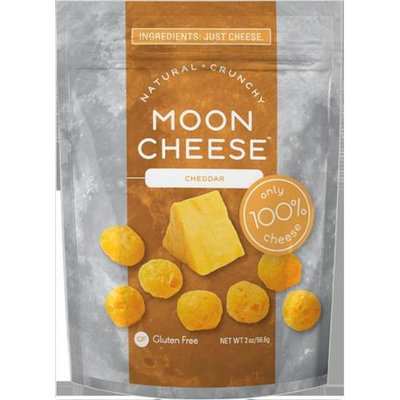 Moon Cheese 500 Medium Cheddar Cheese Snack