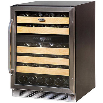 Whynter 46 bottle Dual Temperature Zone Built-In Wine Refrigerator