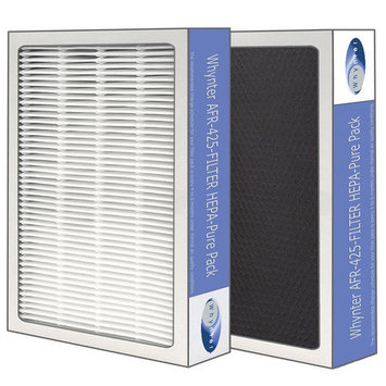 Whynter AFR-425-FILTER EcoPure HEPA System Air Purifier - Silver