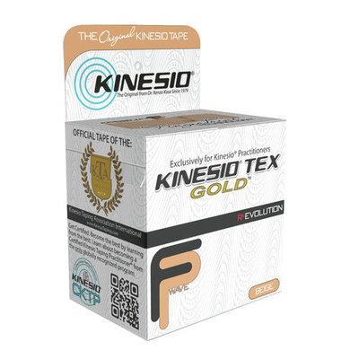 Kinesio Tex Gold, Red, 2 Inches X 16.4 Feet, 3 oz