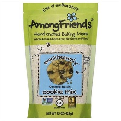 Among Friends 15 oz. Evans Heavenly Spelt Oatmeal Raisin Cookie Mix Case Of 6