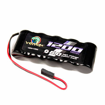 Venom Group International Venom 6v 1200mAh 5-Cell Flat Receiver NiMH Battery