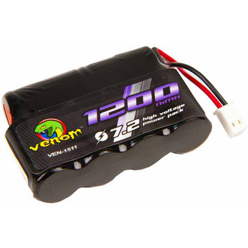 6 Cell 7.2V 1200mAh NiMH Battery: Mini-T - Venom Group International - VEN-1511
