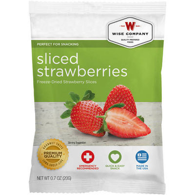 Wise Company Strawberry Mousse, 4.4 oz