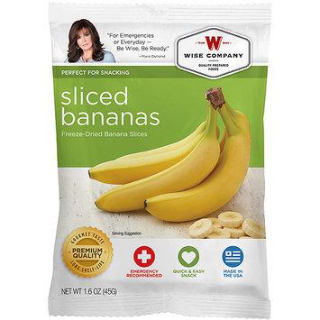 Wise Company Freeze-Dried Sliced Bananas, 1.6 oz