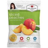 Wise Company Freeze-Dried Sliced Peaches, 1.4 oz