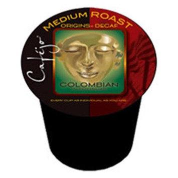 Cafejo K-CJ-DC-1-50 Decaf Colombian K-Cups for Keurig Brewers