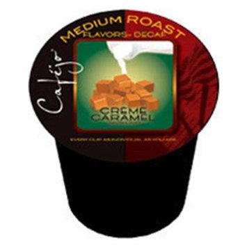 Cafejo K-CJ-DCC-1-50 Decaf Caramel Creme K-Cups for Keurig Brewers