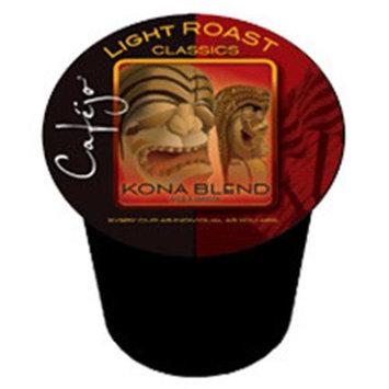 Cafejo K-CJ-KB-1-50 Kona Blend K-Cups for Keurig Brewers