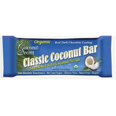 Coconut Secret 1246 Coconut Secret Classic Coconut Bars 12x1.75OZ