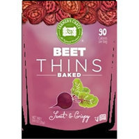 Farmers Crate Gluten Free Baked Fruit Thins Beet - 0.9 Ounce Pack of 8