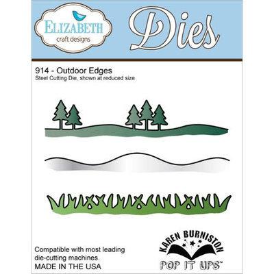 Elizabeth Craft Designs Elizabeth Craft Metal Die-Outdoor Edges