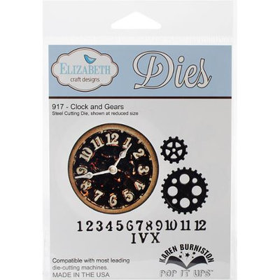 Elizabeth Craft Designs Elizabeth Craft Metal Die-Clock & Gears