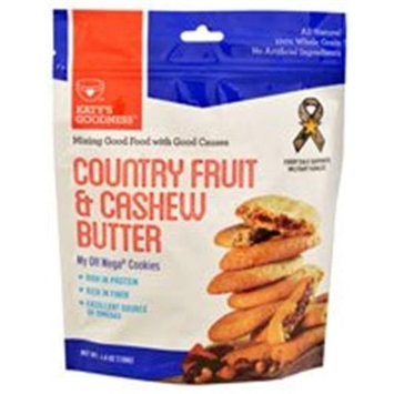 Katy's Goodness My OH Mega Cookies Country Fruit & Cashew Butter 4.8 oz