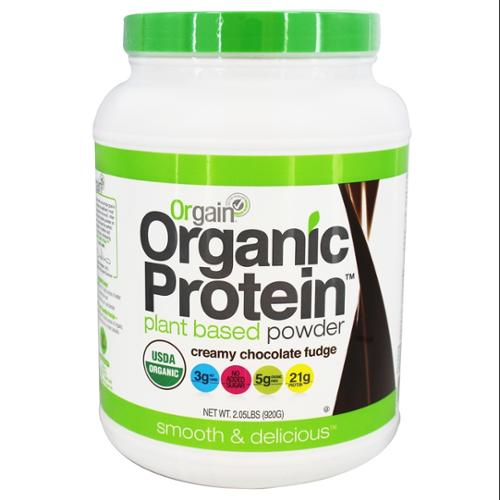 Orgain, Inc. Orgain - Organic Protein Plant Based Powder Creamy Chocolate Fudge - 2.05 lbs.