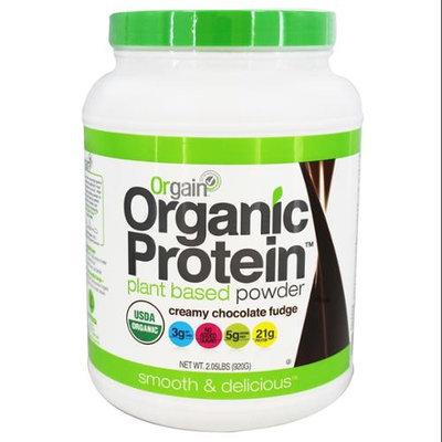 Orgain, Inc. Orgain - Organic Protein Plant Based Powder Creamy Chocolate Fudge - 2.05 lbs.
