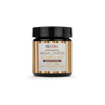 Shea Terra Organics - Argan Zafron & Camels Milk Lait Creme - 2 oz.