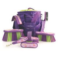 Desert Equestrian Inc - Luckystar Grooming Kit- Purple 9 Piece