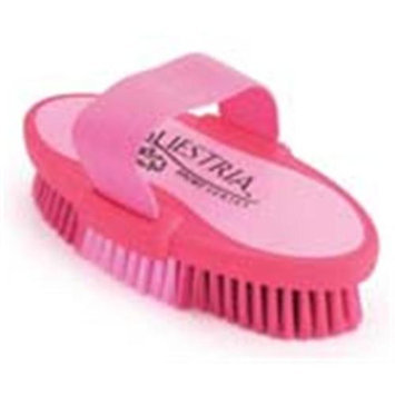 Desert Equestrian Equestria Sport Oval Body Brush Large Pink