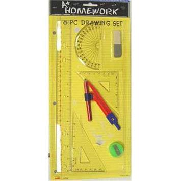 Bulk Buys Drawing - Math - 8 piece set - Case of 48