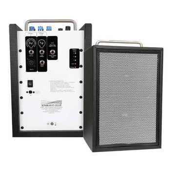 Sunburst Gear M3R8 M3R8 Three Channel Portable Bi-Amp Speaker System with Built