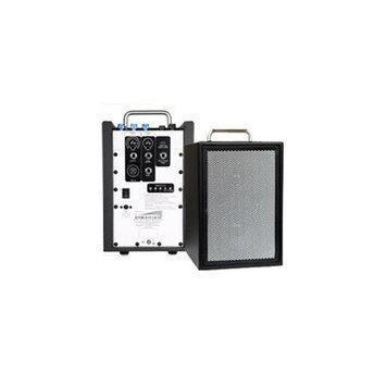 Sunburst Gear M1R3 Compact Three Channel Portable Bi-Amp Speaker System with Bui