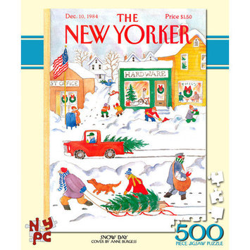 Tnt Media Group Snow Day 500 Piece Jigsaw Puzzle