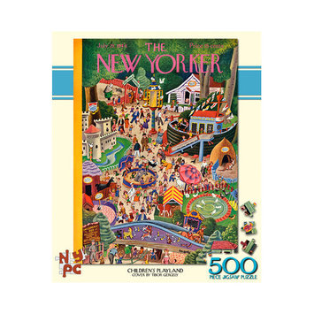Tnt Media Group Children's Play land 500 Piece Jigsaw Puzzle