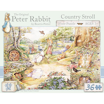 Tnt Media Group Country Stroll 36 Piece Floor Puzzle