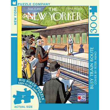 Tnt Media Group Busy Train Route - Large Format 300 Piece Jigsaw Puzzle