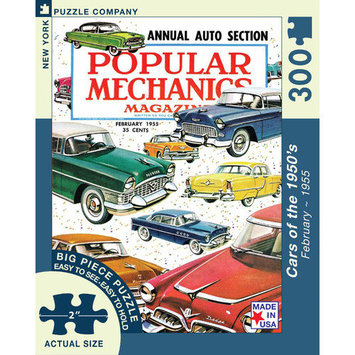 New York Puzzle Company Cars of the 1950s 300-Piece Puzzle