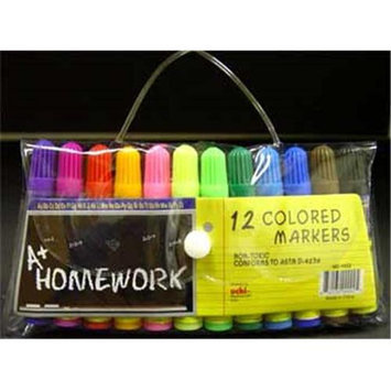 DDI 92892 Mini - Markers - 12 Pack - Assorted Colors. - Case Pack of 48