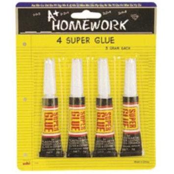 Ddi Bulk Buys Super Glue - 4 pack - Case of 48