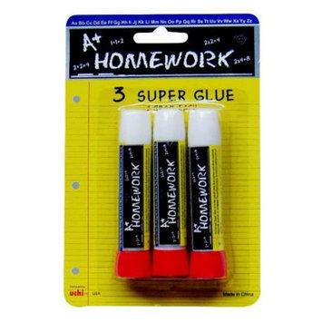 DDI Super Glue Sticks - 3 pack- Case of 48