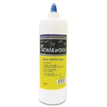 DDI 92767 White School Glue - 16 oz Case Of 24