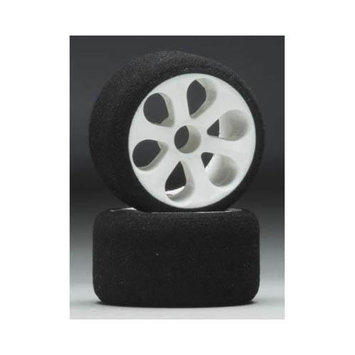 2732 1/12 Prism Wheel/Tire Fr Magenta (2) JACC2732 JACO RACING PRODUCTS