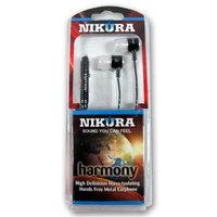 Cam Consumer Products, Inc. Nikura HARMONY EAR BUDS Black - CAM CONSUMER PRODUCTS, INC