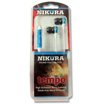Cam Consumer Products, Inc. Nikura TEMPO EAR BUDS Blue - CAM CONSUMER PRODUCTS, INC