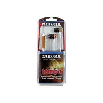 Cam Consumer Products, Inc. Nikura TEMPO EAR BUDS Orange - CAM CONSUMER PRODUCTS, INC