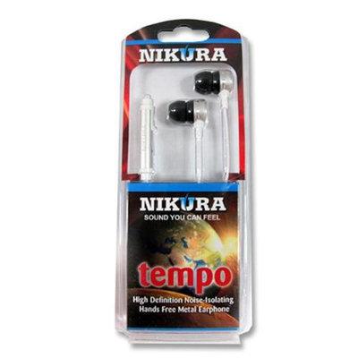 Cam Consumer Products, Inc. Nikura TEMPO EAR BUDS Silver - CAM CONSUMER PRODUCTS, INC