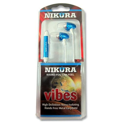 Cam Consumer Products, Inc. Nikura VIBES EAR BUDS Blue - CAM CONSUMER PRODUCTS, INC