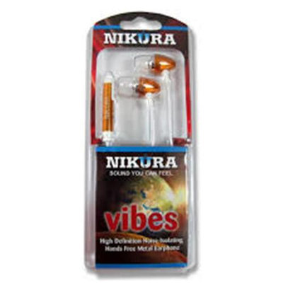 Cam Consumer Products, Inc. Nikura VIBES EAR BUDS Orange - CAM CONSUMER PRODUCTS, INC