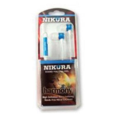Cam Consumer Products, Inc. Nikura HARMONY EAR BUDS Blue - CAM CONSUMER PRODUCTS, INC