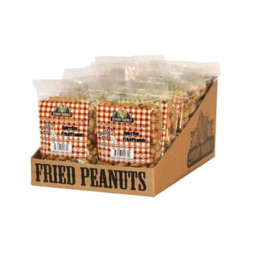 Oak Alley Farms 10251-C-FP-B Spicy Bay Fried Peanuts - 12ct Counter Display