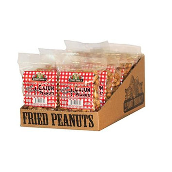 Oak Alley Farms 10248-C-FP-C Cajun Fried Peanuts - 12ct Counter Display